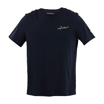 Guess Remote Island T-Shirt - Navy