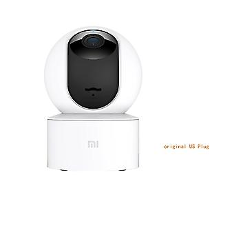Mijia 1080p Smart Ip-webcam, 360-degree/2.4g Wi-fi 10m Infraroșu-noapte-viziune +
