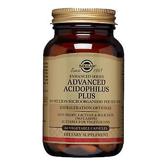 Solgar Advanced Acidophilus Plus Vegetable Capsules, 60 V Caps