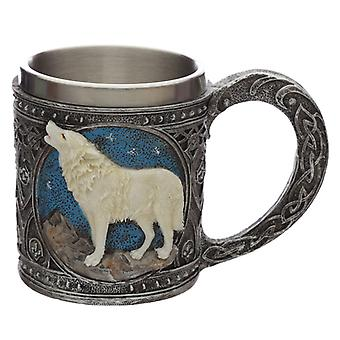 Night of the Wolf Protector of the North Wolf Decorative Tankard