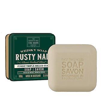 Scottish Fine Soaps Soap Bar Rusty Nail 100g