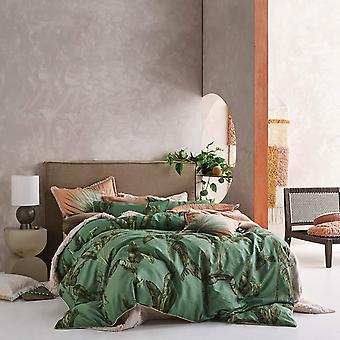 Linen House Livia Banana Tree Square Pillowcase
