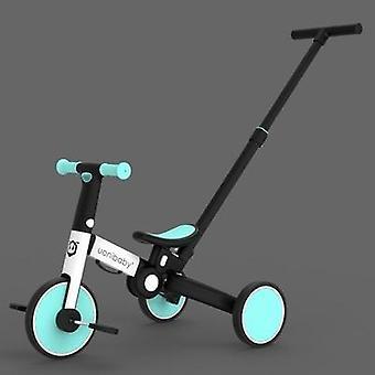 Crianças kick scooter kickboard + triciclo + balance bike para 1 a 7 anos passeio infantil