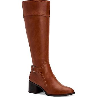 Style & Co. Womens Vannie Faux Leather Tall Riding Boots