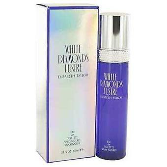 White Diamonds lustre por Elizabeth Taylor Eau de toilette spray 3,3 oz (mulheres) V728-514534