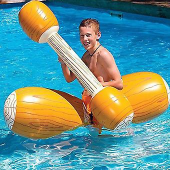 Joust Pool Float Game, Inflatable Swimming Bumper, Racing Boat, Water Sports