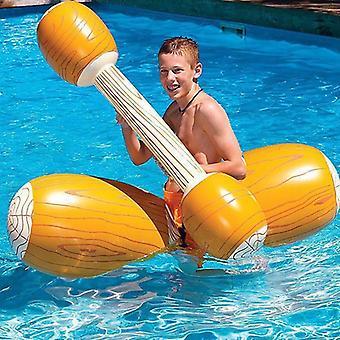 Joust Pool Float Peli, Puhallettava Uimapuskuri, Kilpavene, Vesiurheilu