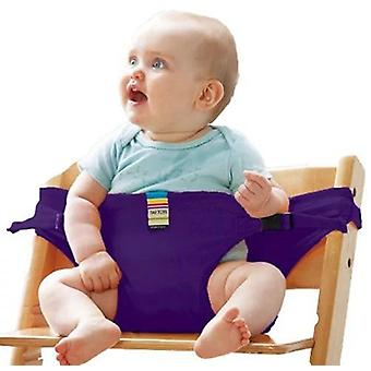 Baby Dining Chair Safety Belt Portable Seat Lunch Chair Seat Stretch Wrap