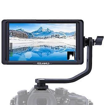 FEELWORLD F5 4K 1920 x 1080 5 Zoll Kamera Feldmonitor, Unterstützung HDMI