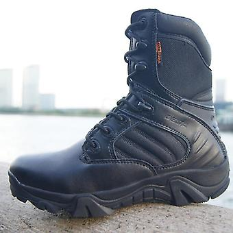 Winter Autumn Men Military Boot, Special Force, Tactical Desert Combat Ankle