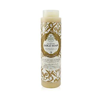 60 Anniversary Luxury Gold Soap With Gold Leaf - 23k Gold Liquid Soap (limited Edition) - 300ml/10.2oz