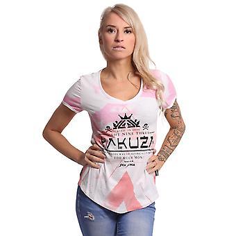 YAKUZA Camiseta de Mujer Spacy V-Neck