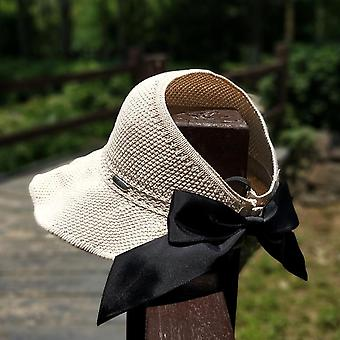Hand Made Raffia Straw Summer Casual Shade Hat