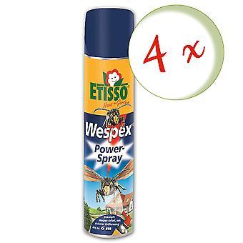 Sparset: 4 x FRUNOL DELICIA® Etisso® Wespex Power Spray, 600 ml