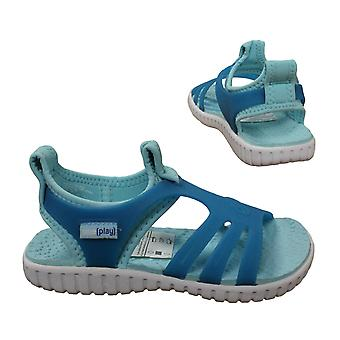 Nike Play Sunray V PS Youths Kids Girls Shoes Water Sandals 304759 443 Y11A