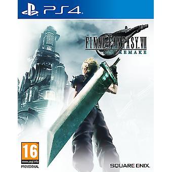 Final Fantasy VII Remake PS4 Spel