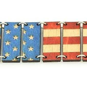 Pulseira da Bandeira Americana 7516