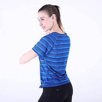 Damer Slim Yoga Fitness Sport Topp H10