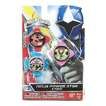 Power rangers 43750 star pack - multi-coloured