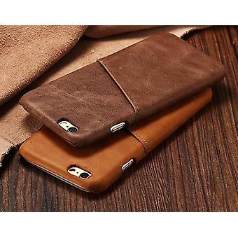 Genuine Leather Stylish Super Slim Protector Case