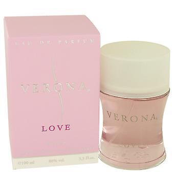 Verona Love by Yves De Sistelle Eau De Parfum Spray 3.4 oz / 100 ml (Women)