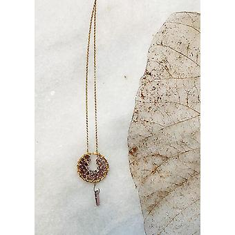 Dream Catcher Tourmaline Necklace