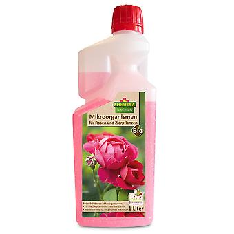 FLORISSA Microorganisms for ornamental plants and roses, 1 litre