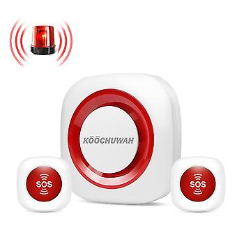 Emergency Help Alarm System Security Wireless Sos Panic Button