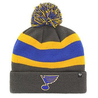 47 brändi neulottu talvi hattu-BREAKAWAY St. Louis Blues