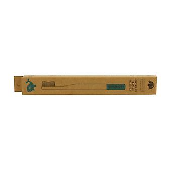 Bamboo Toothbrush for Adults 1 unit (Blue)