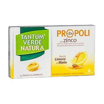 Tantum Verde Natura Lemon and Honey 15 pellets