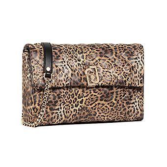 Bag Donna Liu-jo Crossbody M Quilted Leopard Bs21lj22 Aa1340