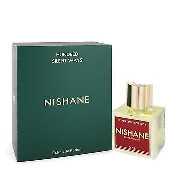 Hundred Silent Ways Extrait De Parfum Spray (Unisex) By Nishane 3.4 oz Extrait De Parfum Spray