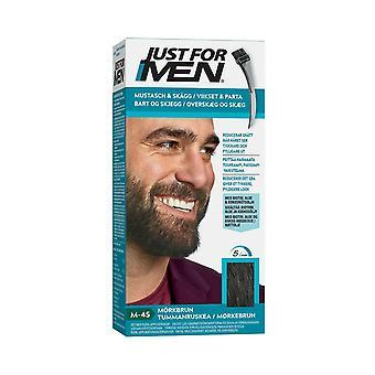 Just For Men Moustache & Beard-Dark Brown M45