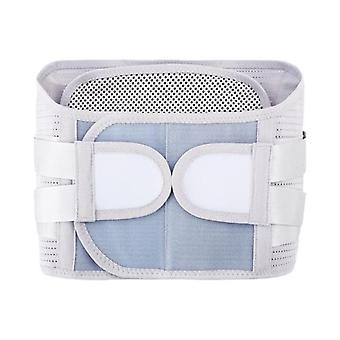 Men women adjustable  self heating magnetic therapy back waist support belt lumbar brace massage band health care