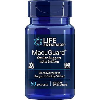 Przedłużenie życia MacuGuard Ocular Unterstützung 60 Softgels