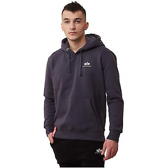 Alpha Industries Basic Hoody Small Logo 196318136 sweat-shirts pour hommes universels