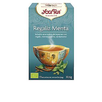 Yogi Tea Regaliz Menta Infusión 17 X 1,8 Gr Unisex