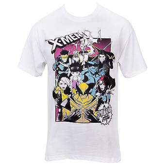 Marvel X-Men Characters Mutant Milestone T-paita