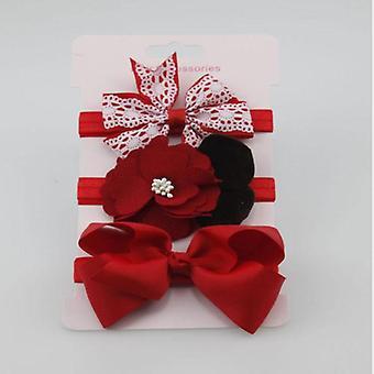 Newborns Photography Props Baby Elastic Floral Headband