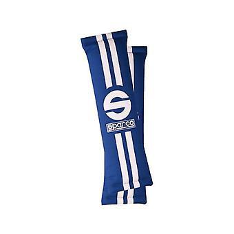 Ceinture de sécurité Pads Sparco 0109077AZ Blue (2 uds)