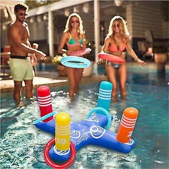 Inflatable Ring Toss Pool Game