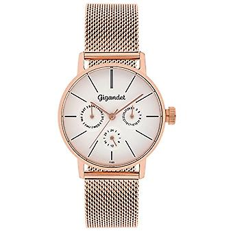 Gigandet G38 - 008 - Women's watch, stainless steel strap, rose gold color