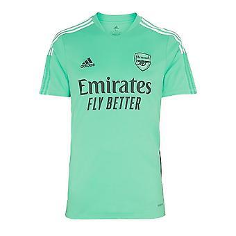 Arsenal 2021-2022 Treningsskjorte (Acid Mint) - Barn