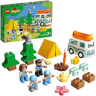 LEGO 10946 DUPLO Kaupunki Perhe Camping Van Adventure