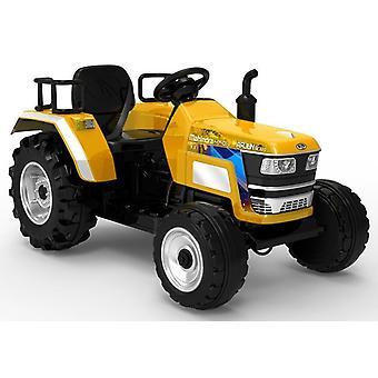 Tractor eléctricamente orientable 2.4G - amarillo - Vehículo para niños