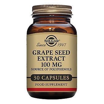 Grape Frø Ekstrakt Solgar 100 mg (30 kapsler)