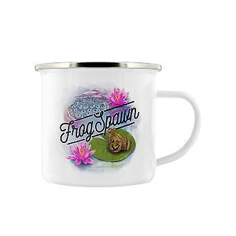 Deadly Detox Frog Spawn Enamel Mug