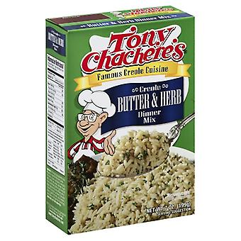 Tony Chacheres Rice Dnr Creole Bttr Herb, Case of 12 X 7 Oz