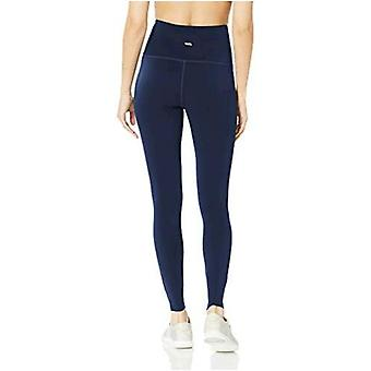 Essentials Women's Performance High-Rise Full Length Active Legging, Schwarz, X-Large